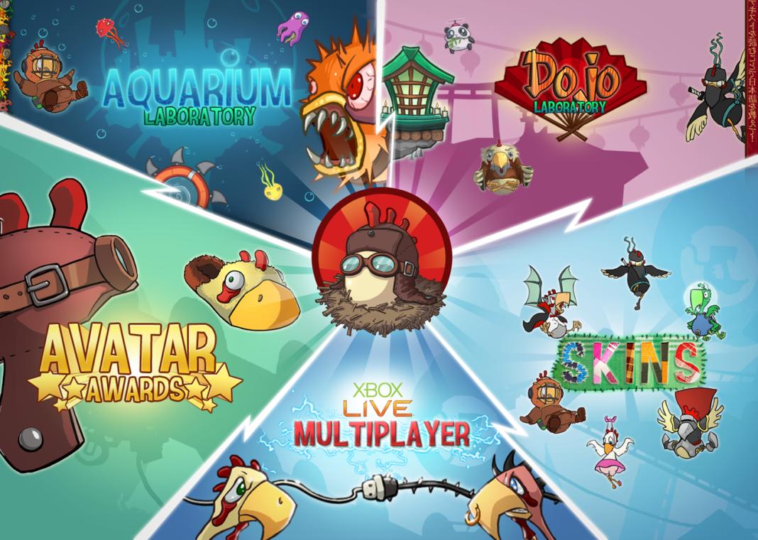 Chicken can't fly - gioco per smartphone divertente | TuttoSulleGalline.it