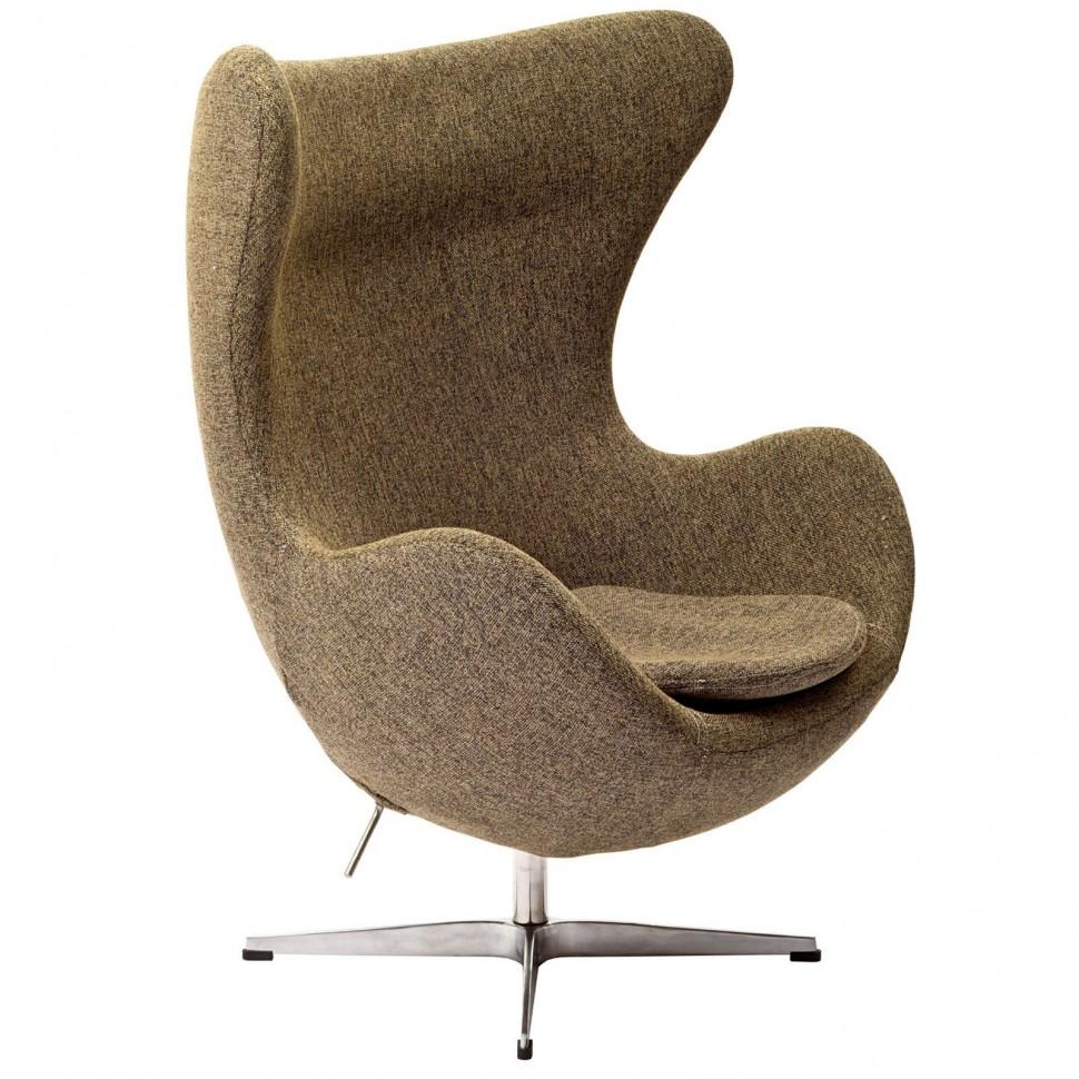 Egg chair con rivestimento in tessuto   TuttoSulleGalline.it