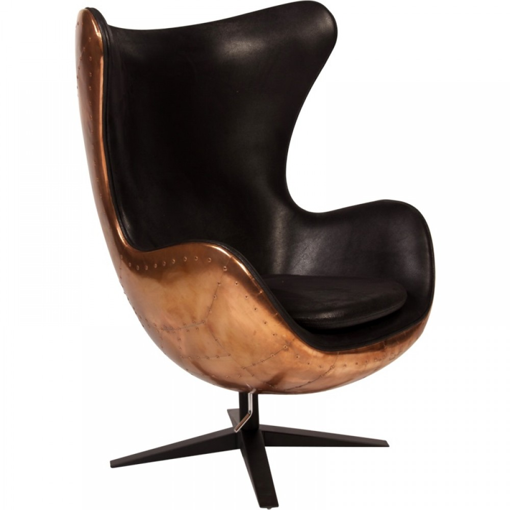 Egg chair in bronzo   TuttoSulleGalline.it