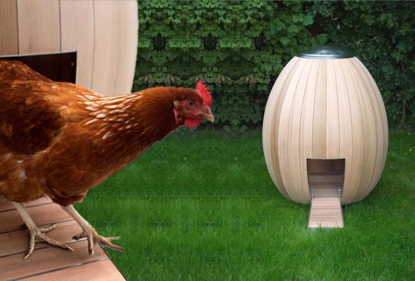 Il pollaio urbano NOGG CHICKEN COOP | TuttoSulleGalline.it
