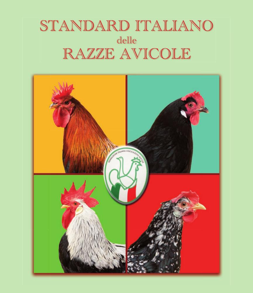Standard Italiano delle razze avicole - FIAV [copertina del libro]
