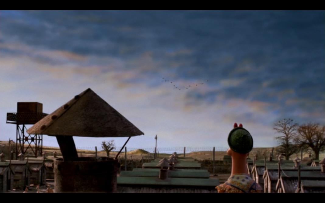 Galline in fuga. Il cartone animato in cui le galline apsirano a vivere in libertà, fuori dal pollaio.