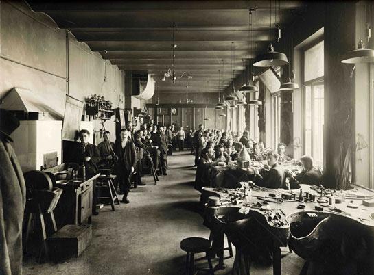 Laboratorio orafo Fabergé (1903)