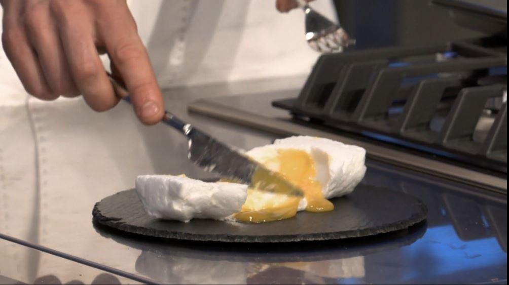 Ricetta nuvola d'uovo: eccola alla prova del taglio!