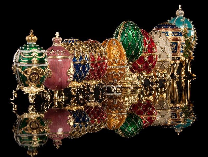 Riproduzioni commerciali delle uova Fabergé