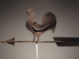 La banderuola segnavento a forma di gallo   TuttoSulleGalline.it