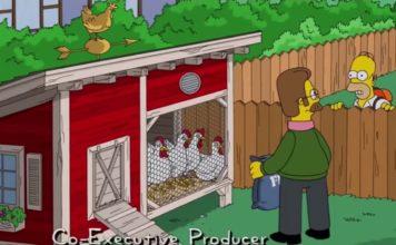 Le galline nei Simpson: il pollaio di Ned Flanders | TuttoSulleGalline.it