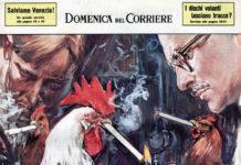 Pollai e galline nelle illustrazioni della Domenica del Corriere (riviste uniche da collezione) | TuttoSulleGalline.it