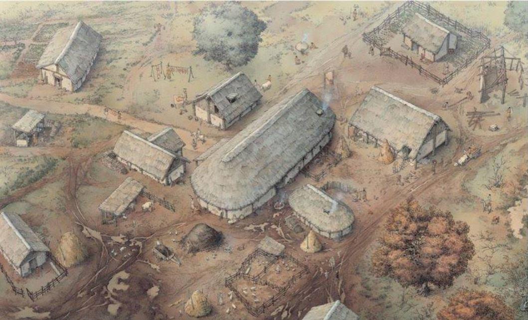 Progetto di ricostruzione del villaggio di Poggio Imperiale del IX-X secolo
