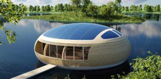 La casa galleggiante a forma d'uovo dell'architetto Giancarlo Zema: WaterNest100 | Tuttosullegalline.it