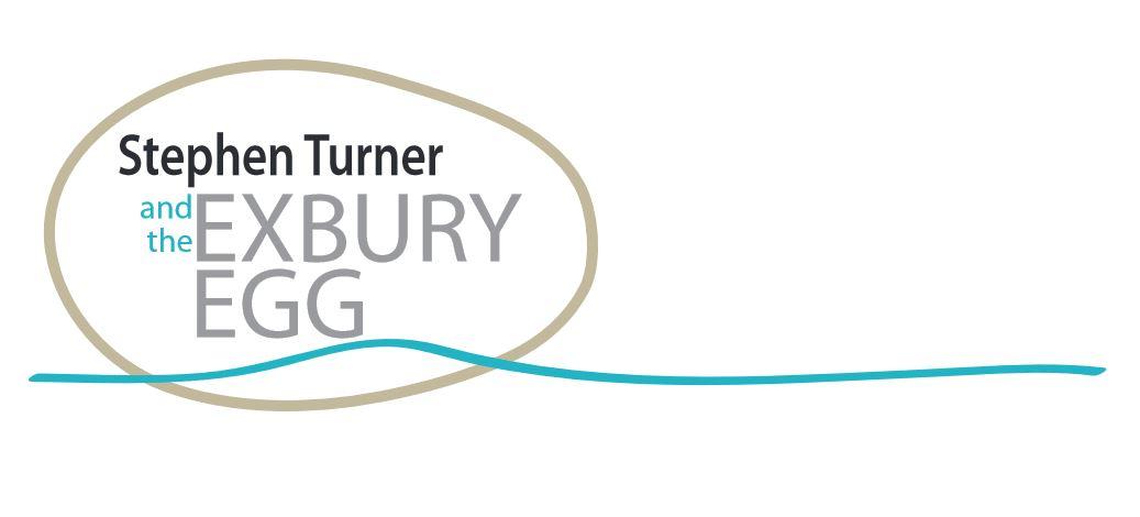 Il logo del progetto Exbury Egg, la mini casa galleggiante a forma di uovo