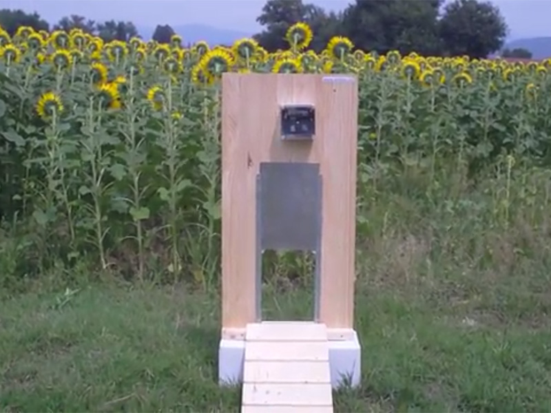 Porta crepuscolare per pollaio Farnaservices