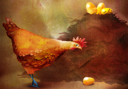 La gallina dalle uova d'oro