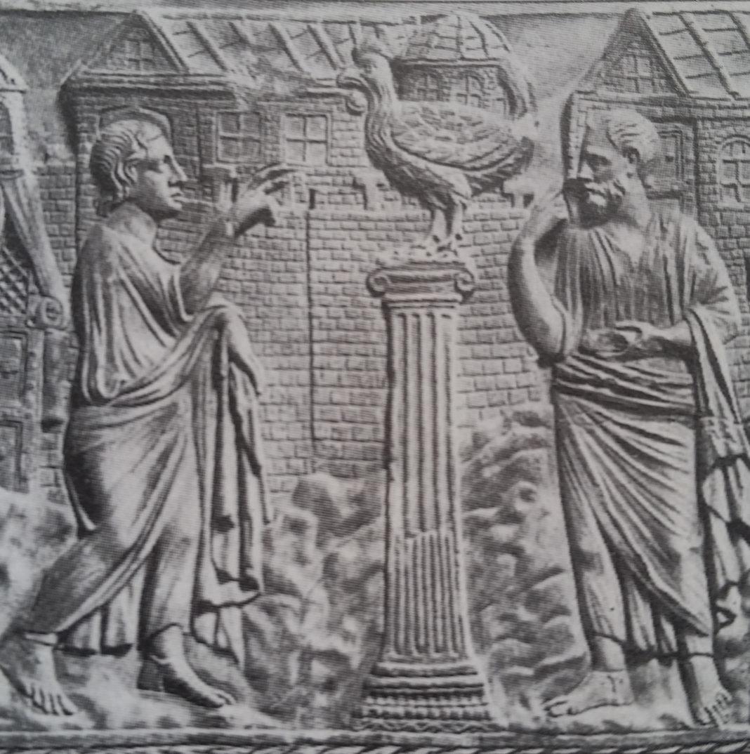 Il triplice canto del gallo che annuncia il rinnegamento di San Pietro