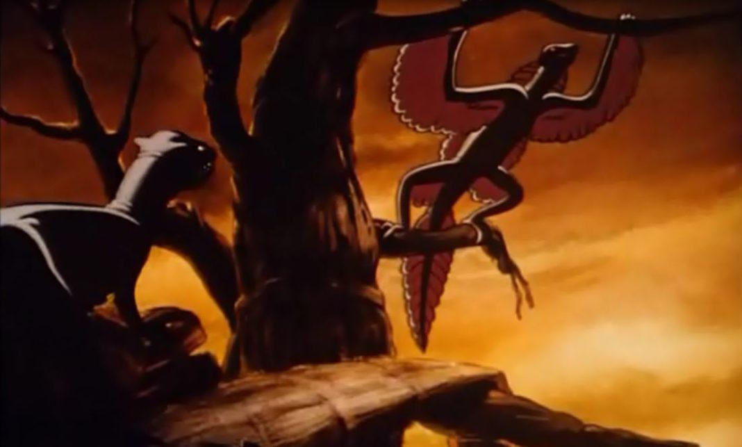 L'Archaeopteryx lithographica - Fantasia (Filma animato) Walt Disney 1940