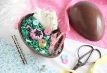 L'Uovo di Pasqua di cioccolato (e di carta) fatto in casa | Tuttosullegalline.it