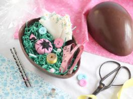 L'Uovo di Pasqua di cioccolato (e di carta) fatto in casa   Tuttosullegalline.it