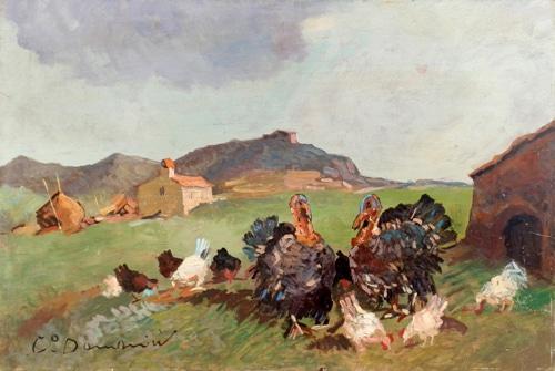 Tacchini e polli - Carlo Domenici