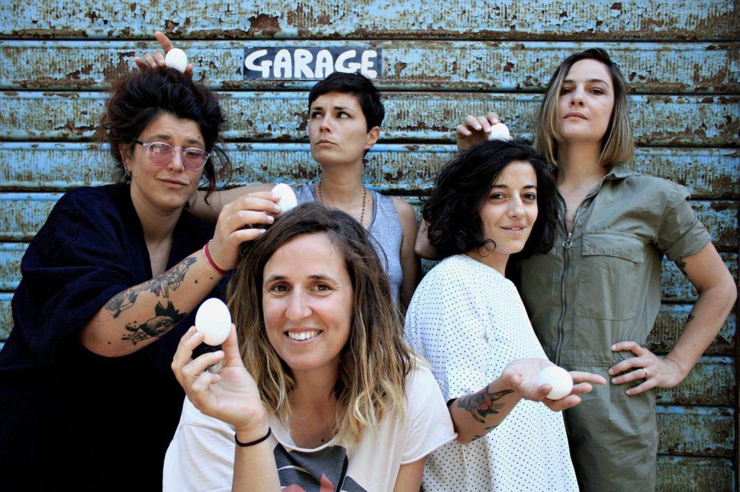 Viola Barbara, Giulia Bernini, Valeria Aretusi, Valentina Restivo e Libera Capezzone | Uovo alla Pop, Livorno