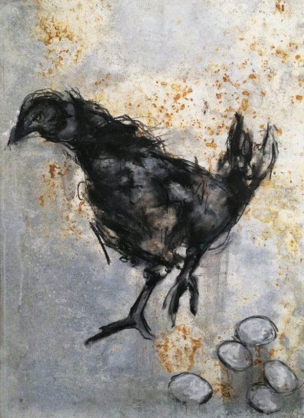 Casorati e il pollo - Libertà | Uovo alla Pop, Livorno