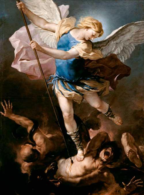 San Michele sconfigge Lucifero (dipinto)