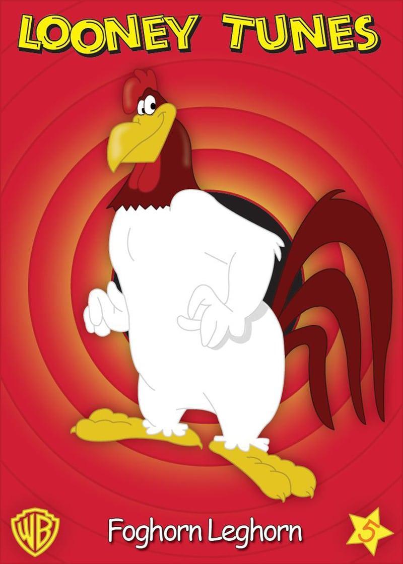 Il personaggio della Looney Tunes ispirato al gallo di razza Livornese: Foghorn Leghorn.