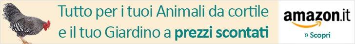 Tutto per le tue Galline, gli Animali da cortile e il Giardino a prezzi scontati