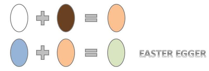 Scheme di ibridazione delle easter egger per ottenere l'uovo verde oliva dal colore più tenue