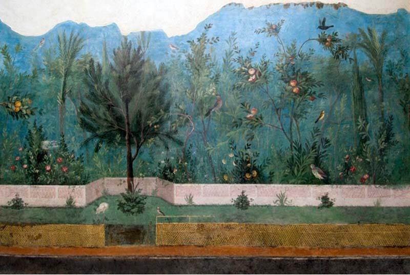 Gli affreschi della domus diAd gallinas albas dell'imperatrice Livia Drusilla