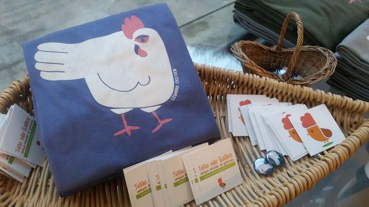 maglietta (t-shirt) Leghorn Chicken design in occasione del Convegno sulla Gallina di Razza Livorno