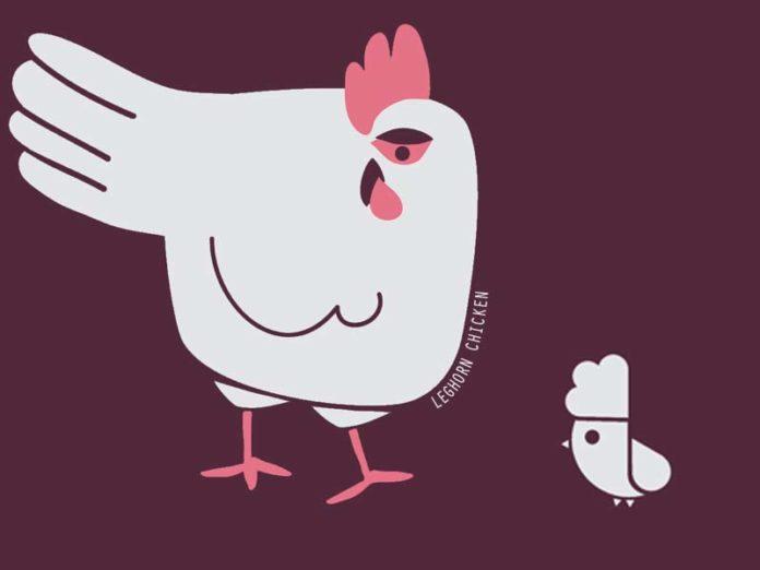 LEGHORN CHICKEN, linea di T-shirt e Felpe ambasciatrici della cultura avicola | Tuttosullegalline.it