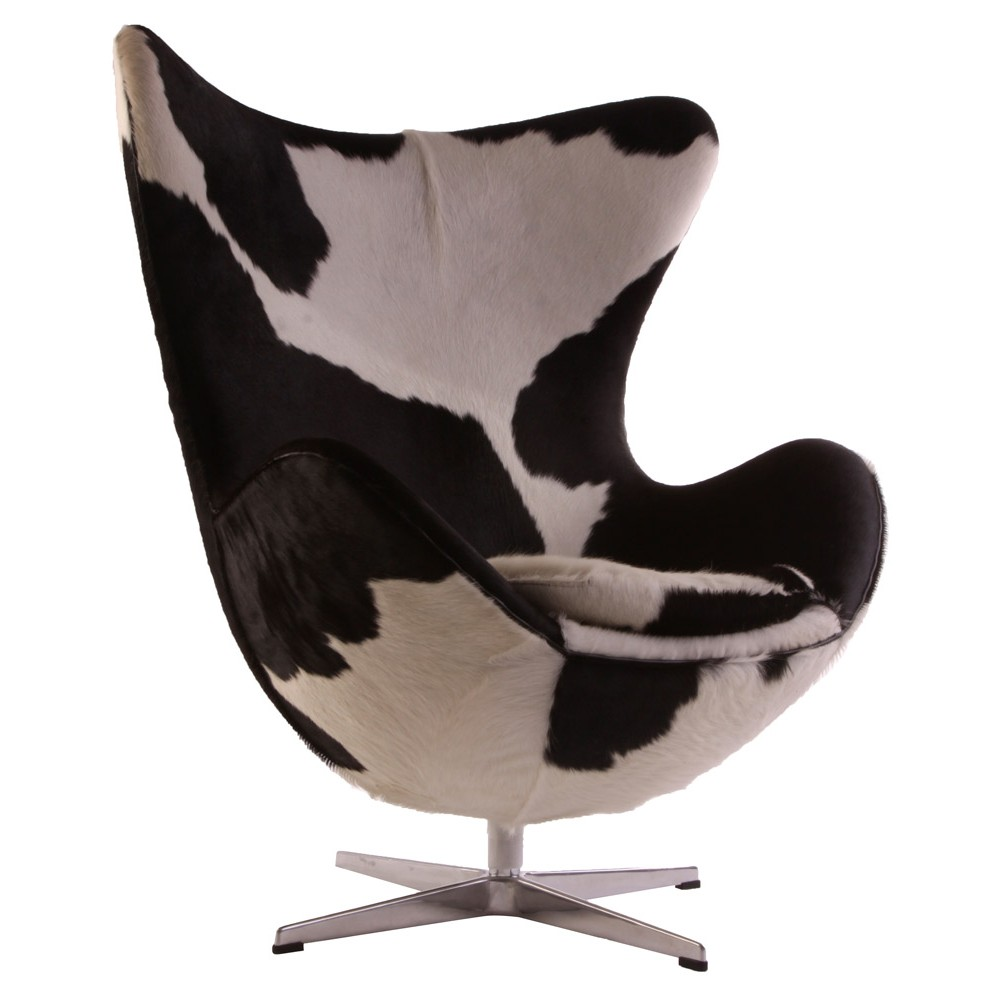 Egg chair stile cow | TuttoSulleGalline.it