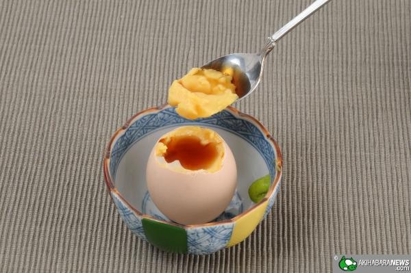 Takara Tomy Egg - Mangiare l'uovo centrifugato e cotto con salsa di di caramello | TuttoSulleGalline.it