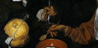 Ritaglio - La vecchia friggitrice di uova - Diego Velàzquez (1618) - TuttoSulleGalline.it