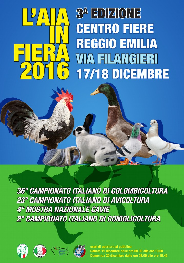 Aia in Fiera - 17/18 Dicembre 2016, Reggio Emilia