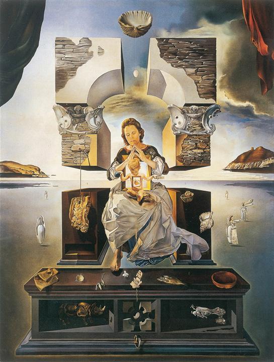 Madonna di Port Lligat (1950) - Salvador Dalì | TuttoSulleGalline.it