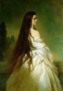 Principessa Sissi usava l'uovo per curare i capelli
