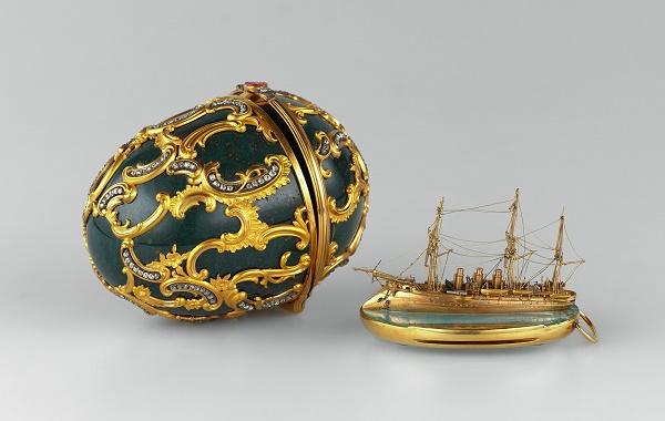 """Uovo della """"Memoria di Azov"""" (Fabergé, 1891)"""