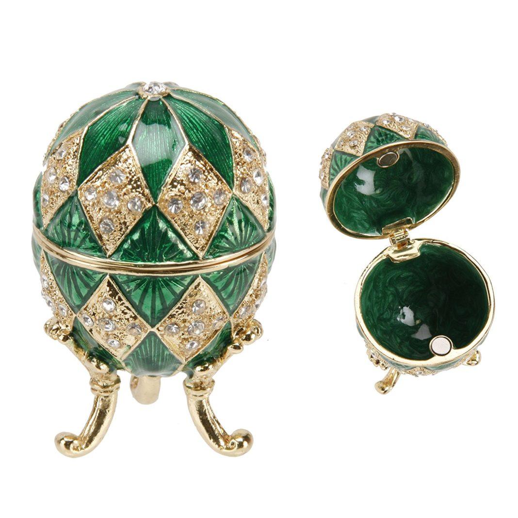 Scatola dei ricordi ispirata all'uovo Fabergé