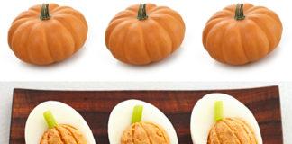 Uova ripiene di Halloween - ricetta gustosa | TuttoSulleGalline.it