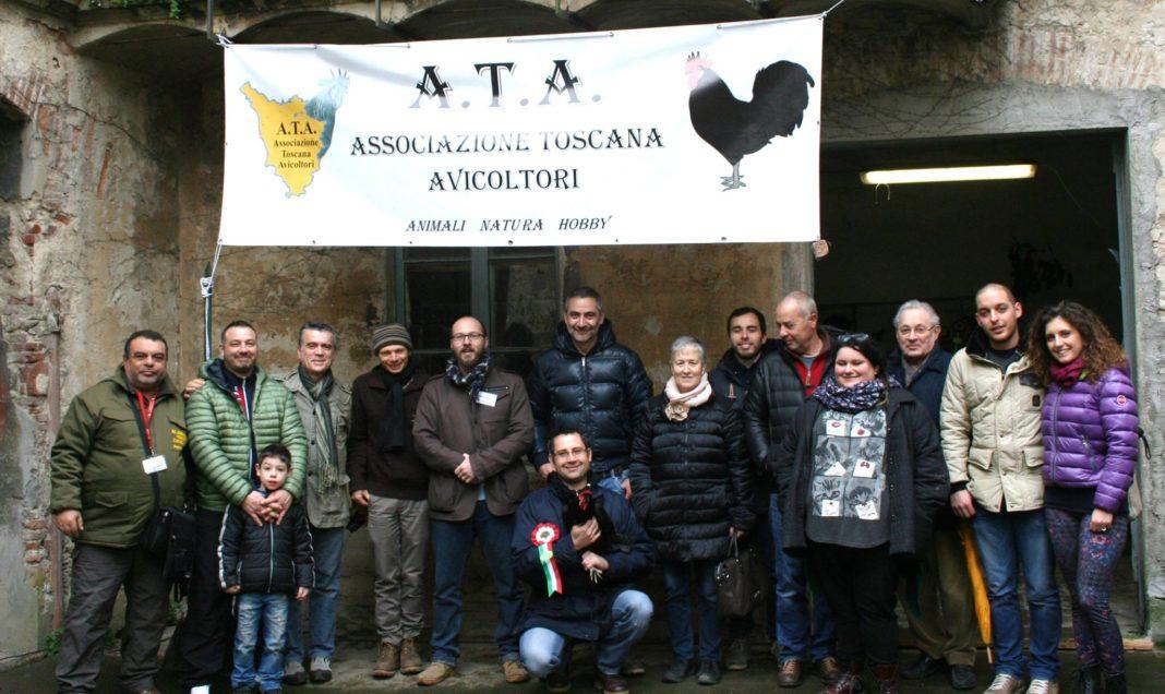 Foto di gruppo dei soci aderenti all'Associazione Toscana Avicoltori