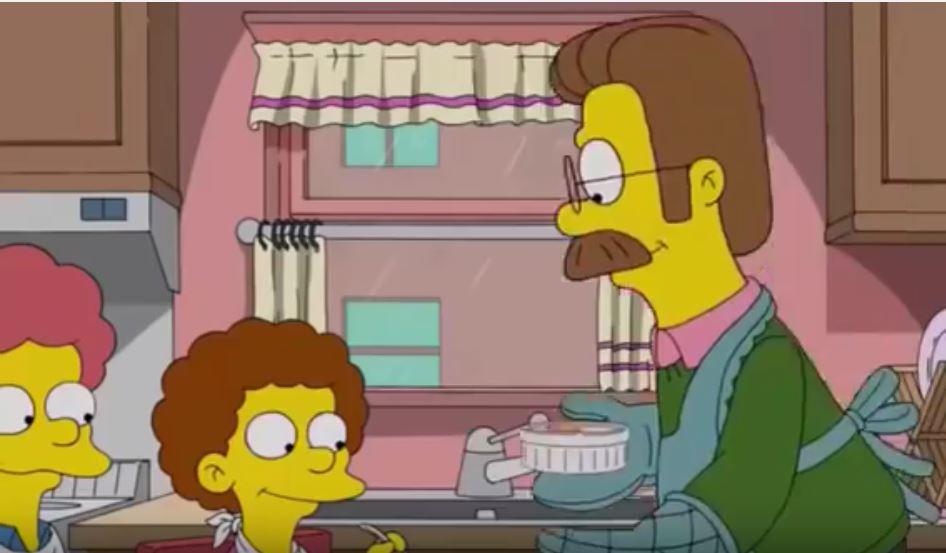 Uova in cocotte acclamate dai bimbi di Ned Flanders - The Simpson