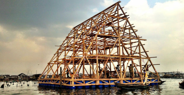 Floating school - Makoko (Lagos)