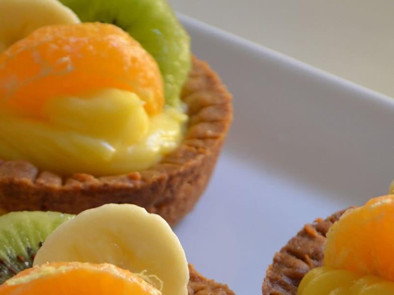 Tartine di frutta farcite con Lemon curd