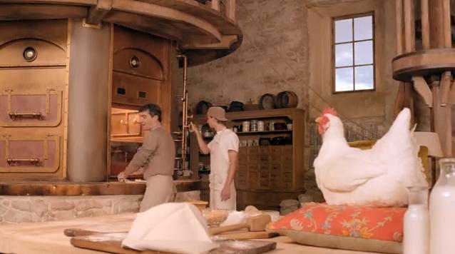 La gallina Rosita della pubblicità del Mulino Bianco