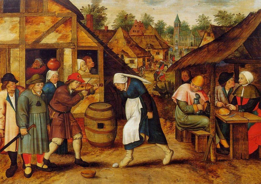 Danza dell'Uovo - Pieter Bruegel il Giovane (1620)