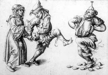 Eiertanz, Oberrhein, 1510 - Danza dell'uovo