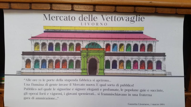 Mercato delle Vettovaglie, Livorno