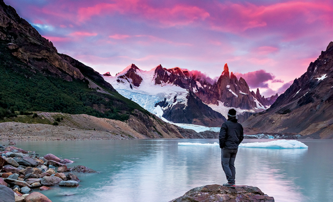 Agentina - Patagonia - Lago Nordenskjöld
