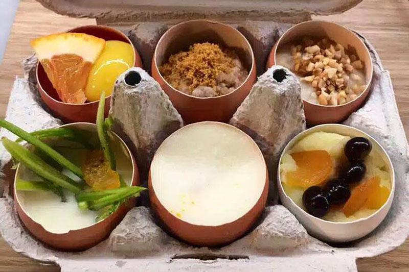 Il gioco dell'ova, percorso degustazione Eggs Roma
